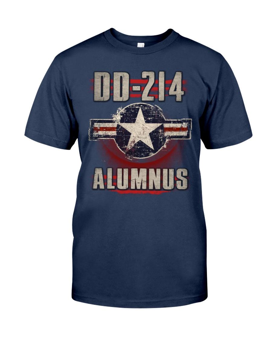DD214 Aircraft Alumnus Classic T-Shirt