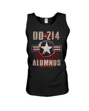 DD214 Aircraft Alumnus Unisex Tank thumbnail