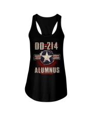 DD214 Aircraft Alumnus Ladies Flowy Tank thumbnail