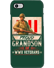 WWII Veterans Grandson Phone Case thumbnail