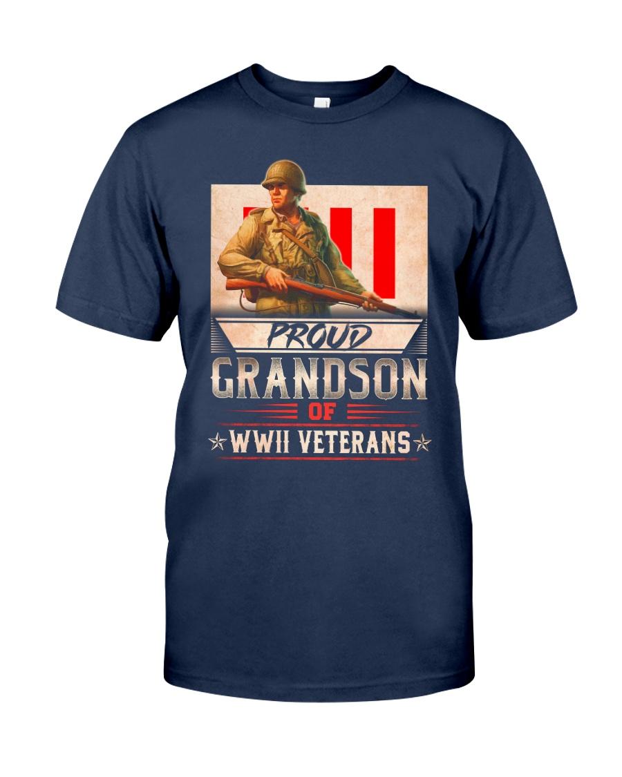 WWII Veterans Grandson Classic T-Shirt