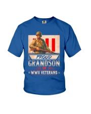 WWII Veterans Grandson Youth T-Shirt thumbnail