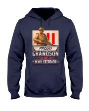 WWII Veterans Grandson Hooded Sweatshirt thumbnail