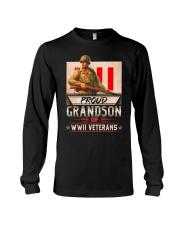 WWII Veterans Grandson Long Sleeve Tee thumbnail