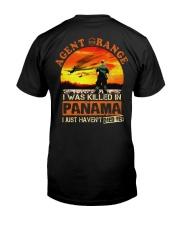 Agent Orange In Panama Classic T-Shirt back