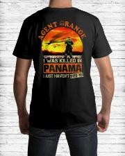 Agent Orange In Panama Classic T-Shirt lifestyle-mens-crewneck-back-1