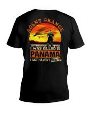 Agent Orange In Panama V-Neck T-Shirt thumbnail