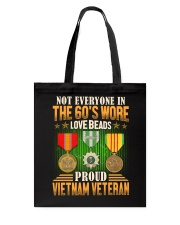 Not Everyone In The 60's Tote Bag thumbnail