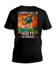 Jump Out Of Hueys V-Neck T-Shirt thumbnail