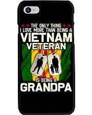 Vietnam Veteran Being A Grandpa Phone Case thumbnail