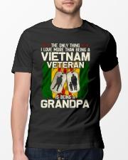 Vietnam Veteran Being A Grandpa Classic T-Shirt lifestyle-mens-crewneck-front-13