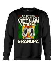 Vietnam Veteran Being A Grandpa Crewneck Sweatshirt thumbnail
