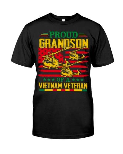Proud Grandson Of A Vietnam Veteran