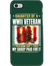 WWII Veteran Daughter-Paid For it Phone Case thumbnail