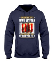 WWII Veteran Daughter-Paid For it Hooded Sweatshirt thumbnail