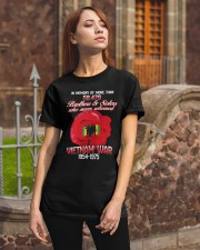 Poppy-In Memory Of Classic T-Shirt apparel-classic-tshirt-lifestyle-06