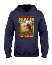 Grew Up Hooded Sweatshirt front