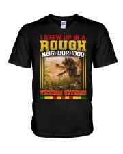 Grew Up V-Neck T-Shirt thumbnail