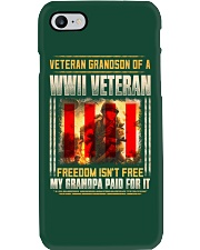 Veteran Grandson Of A WWII Veteran Phone Case thumbnail