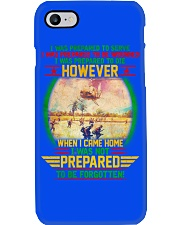 Not Prepared To Be Forgotten Phone Case tile