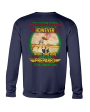 Not Prepared To Be Forgotten Crewneck Sweatshirt tile