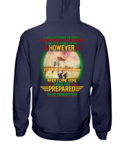Not Prepared To Be Forgotten Hooded Sweatshirt thumbnail