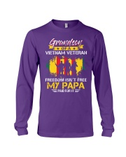 Grandson My Papa Paid For It  Long Sleeve Tee thumbnail