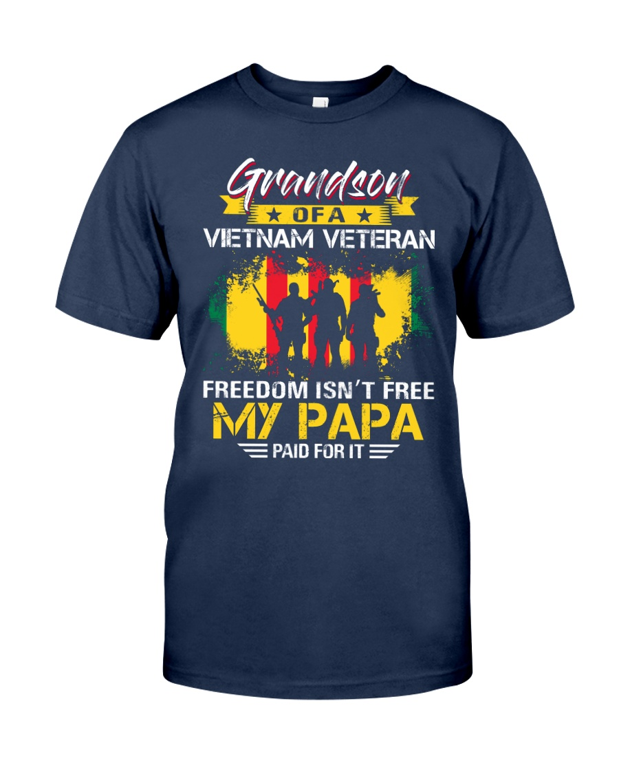 Grandson My Papa Paid For It  Classic T-Shirt