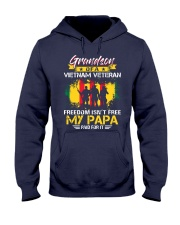 Grandson My Papa Paid For It  Hooded Sweatshirt thumbnail