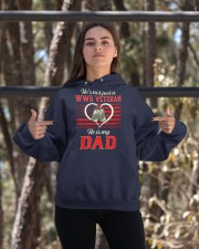 He is my Dad Hooded Sweatshirt apparel-hooded-sweatshirt-lifestyle-05