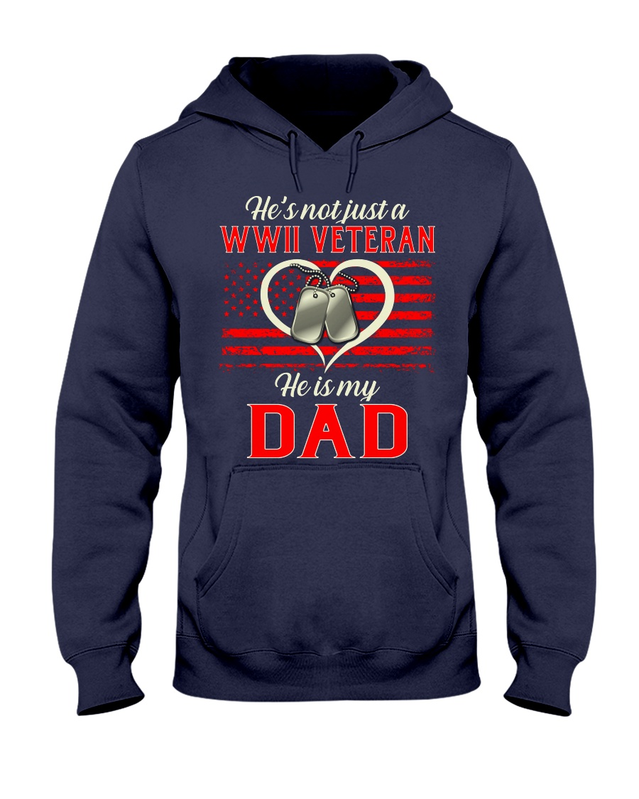 He is my Dad Hooded Sweatshirt