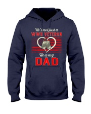He is my Dad Hooded Sweatshirt front