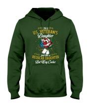 US Veteran Daughter Cooler Hooded Sweatshirt thumbnail