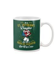 US Veteran Daughter Cooler Mug thumbnail