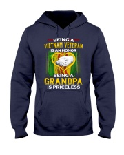 Vietnam Veteran Grandpa-Priceless Hooded Sweatshirt thumbnail