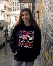 Pledge Hooded Sweatshirt lifestyle-unisex-hoodie-front-1