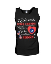 In Love With An Airman Unisex Tank thumbnail