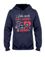 In Love With An Airman Hooded Sweatshirt front