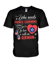 In Love With An Airman V-Neck T-Shirt thumbnail