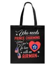 In Love With An Airman Tote Bag thumbnail