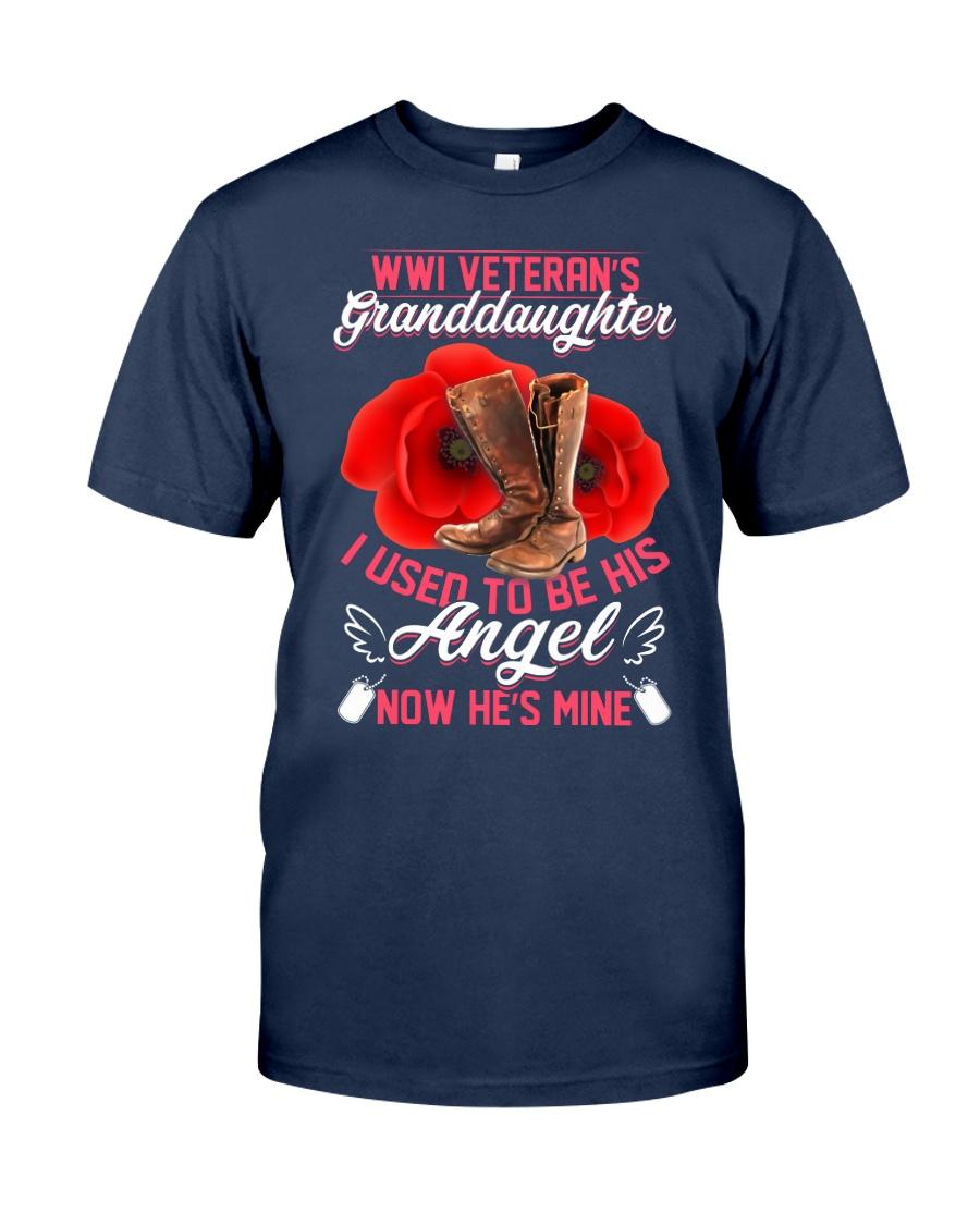 WWI Veteran's Granddaughter Angel Classic T-Shirt