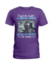 Airman In Camo Ladies T-Shirt thumbnail