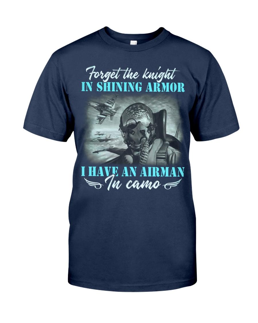 Airman In Camo Classic T-Shirt