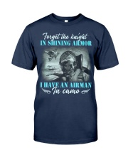Airman In Camo Classic T-Shirt front