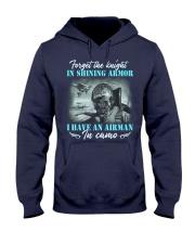 Airman In Camo Hooded Sweatshirt thumbnail