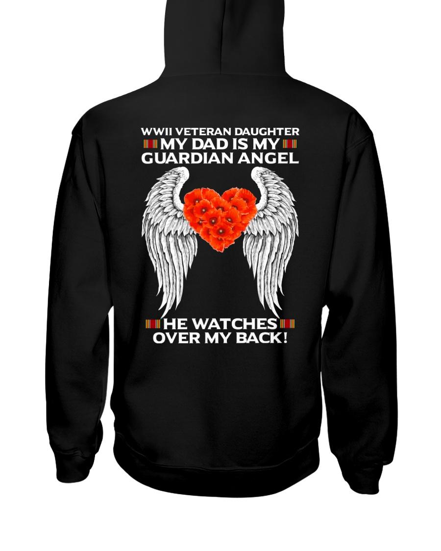 My Guardian Angel-Daughter Hooded Sweatshirt
