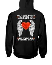 My Guardian Angel-Daughter Hooded Sweatshirt back