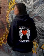 My Guardian Angel-Daughter Hooded Sweatshirt lifestyle-unisex-hoodie-back-1
