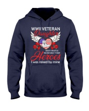 WWII Veteran Daughter-Hero Hooded Sweatshirt thumbnail