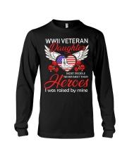 WWII Veteran Daughter-Hero Long Sleeve Tee thumbnail